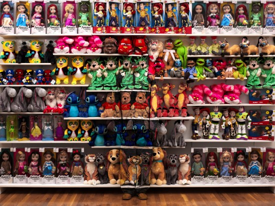 Liu Bolin, Hiding in New York No. 7 - Made in China, 2012, photograph