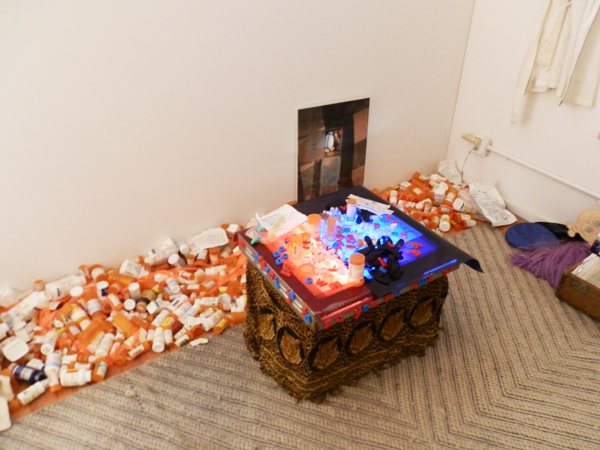 Jack Waters and Peter Cramer, Short Memory/No History, 2013, mixed media installation