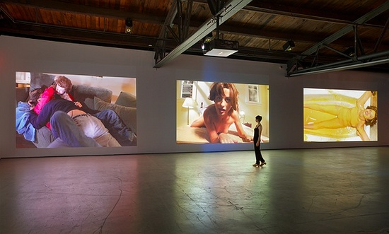 Installation view of Rebel Dabble Babble at Hauser & Wirth