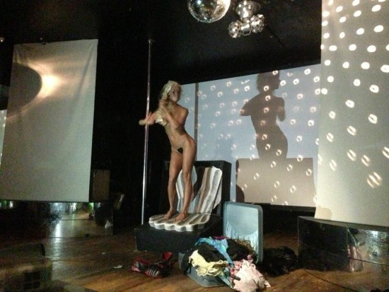 Narcissister as The Birth of Venus (via Dirty Looks NYC facebook)