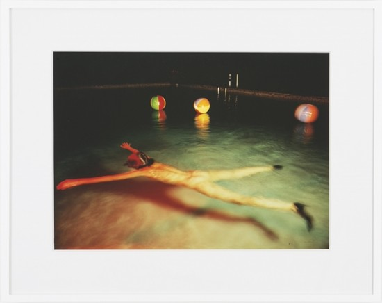 Jimmy DeSana, Pool, 1980, cibachrome (all images courtesy the Estate of Jimmy DeSana and Salon 94 Bowery)