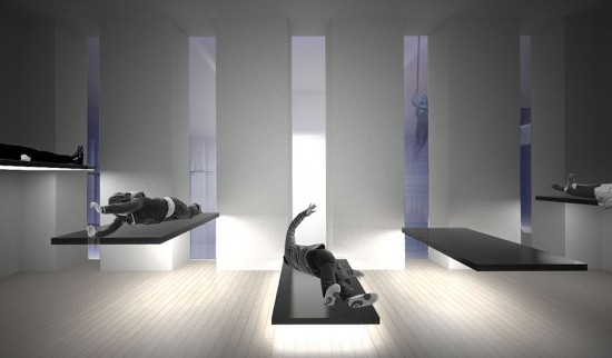 The Levitation Chamber (© OMA; via marinaabramovicinstitute.org)