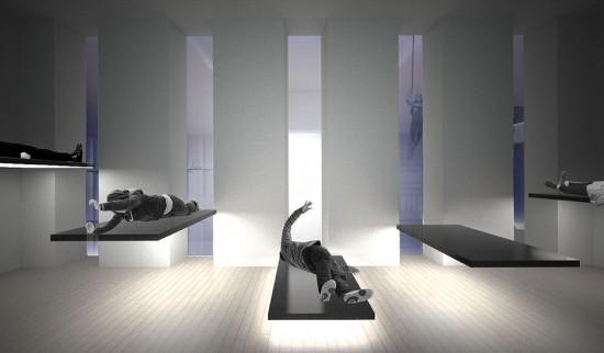 The Levitation Chamber (© OMA; via marinaabramovicinstitute.org)