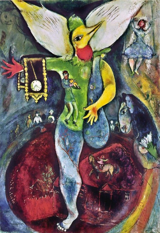 The Juggler, Marc Chagall, 1943