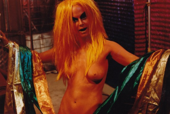 Kembra Pfahler in Nick Zedd's War Is Menstrual Envy
