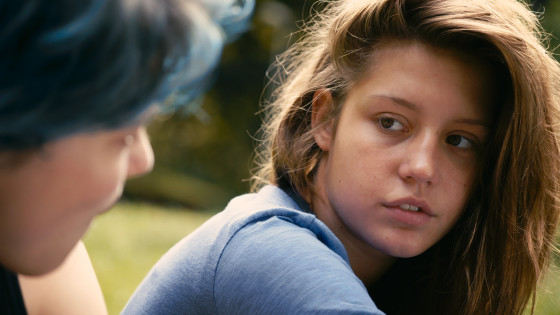 a still from 'Blue is the Warmest Color'