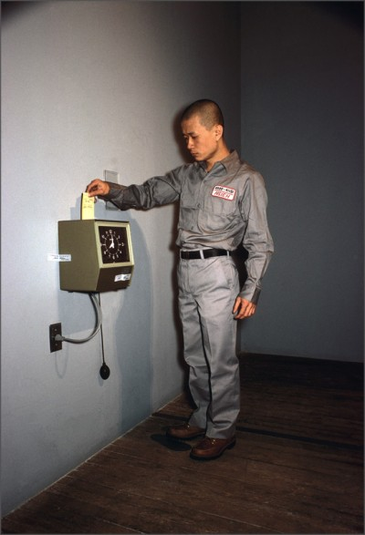 Tehching Hsieh, One Year Performance (Time Piece), New York, April 11, 1980 to April 11, 1981 (Courtesy the artist)