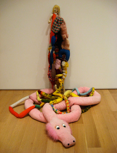 Mike Kelley, Eviscerated Corpse, 1989 (courtesy the Art Institute of Chicago).