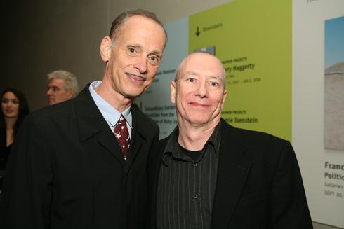 John Waters and MIke Kelley (via hammer.ucla.edu)