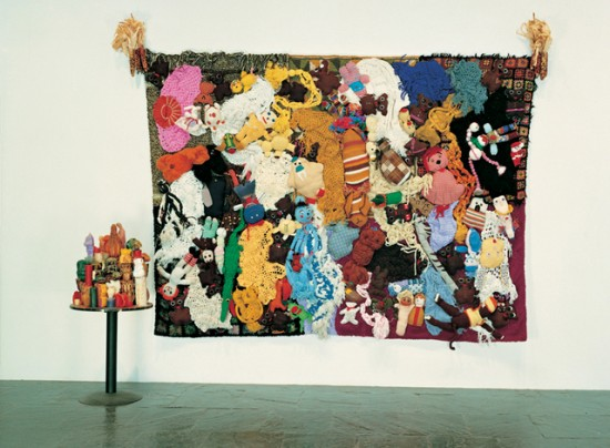 Mike Kelley, More Love Hours Than Can Ever Be Repaid and The Wages of Sin, 1987 (Courtesy the Whitney Museum of American Art)