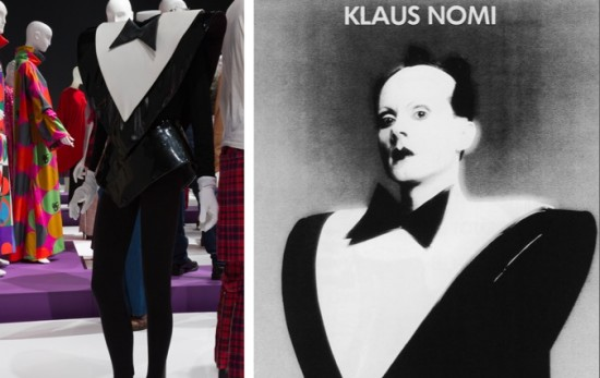 Performance Costume Worn By Klaus Nomi, Vinyl, 1980-1981, USA, lent by Joey Arias, Executor of the Nomi Estate