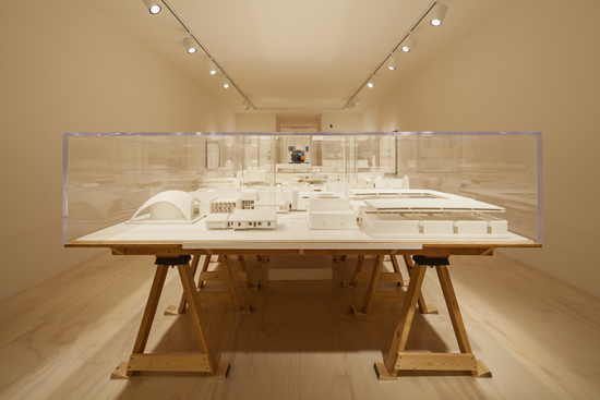 "Installation view of Mike Kelley's ""Educational Complex"" at MoMA PS1, 2013. Photo: Matthew Septimus."