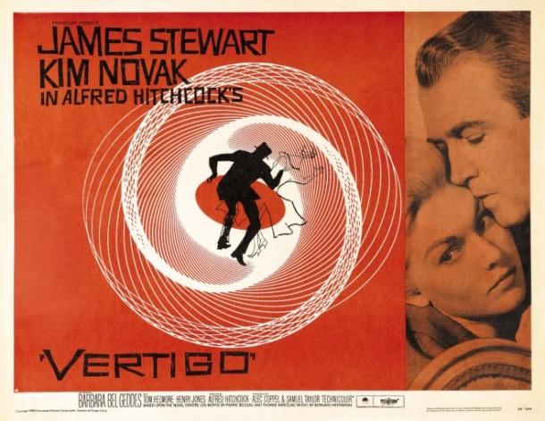 Vertigo, dir: Alfred Hitchcock, 1958