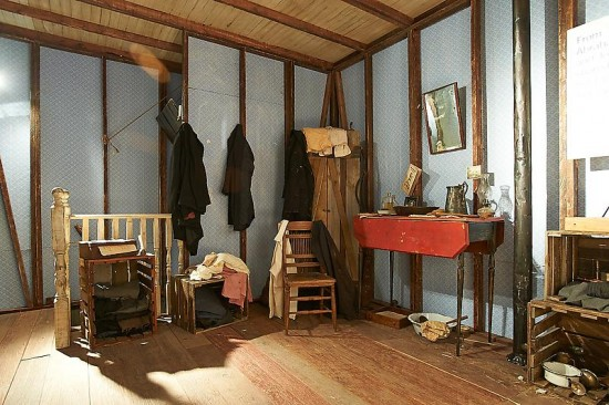 Installation View of Skylar Fein's The Lincoln Bedroom, Photo by Dick Mitchell