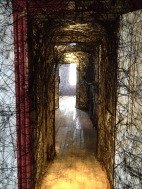 """Call From The Past: Chiharu Shiota's """"Trace of Memory"""" at the MattressFactory"""