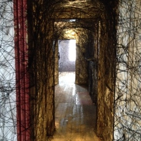 "Call From The Past: Chiharu Shiota's ""Trace of Memory"" at the Mattress Factory"