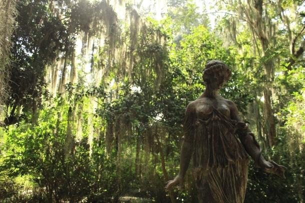 Rosedown Statue Moss