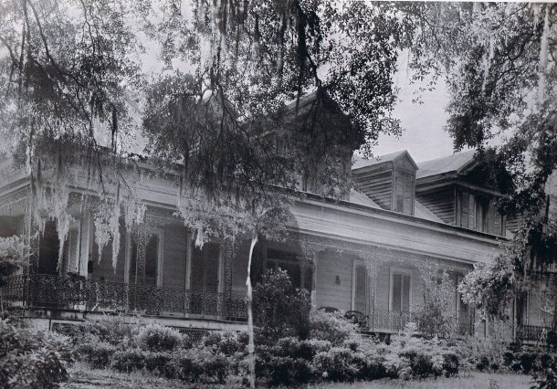 "Laughlin, ""The Dark Lady"" (1946-47); Myrtles Plantation"