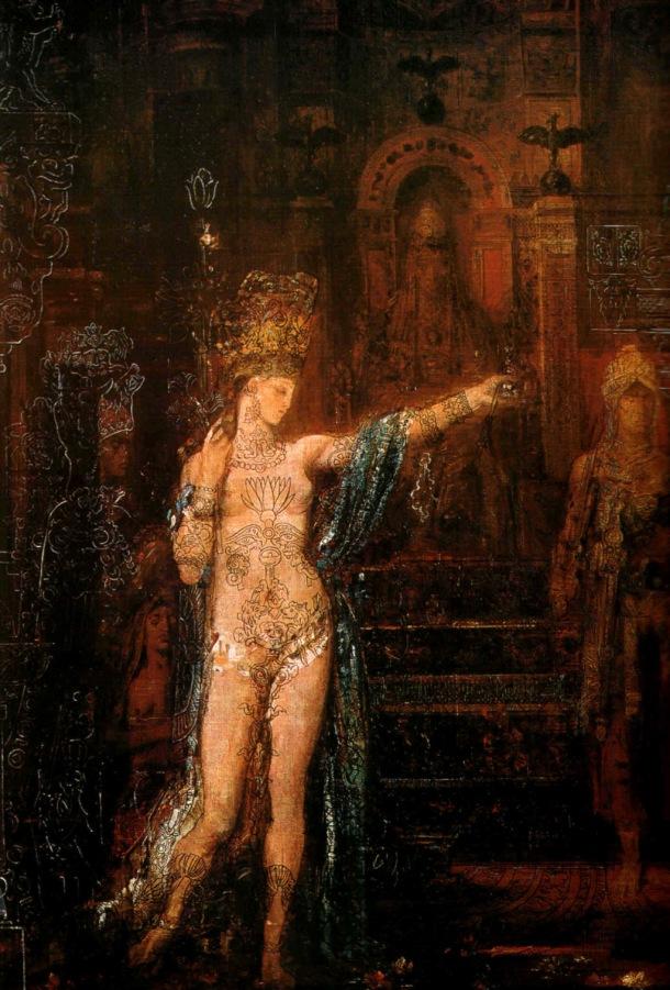 Gustave Moreau, Salomé (1876)