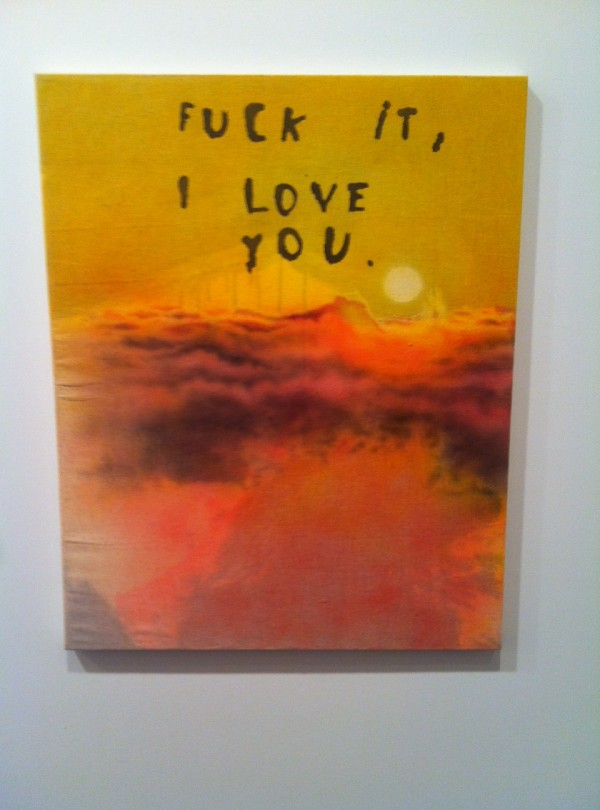 Friedrich Kunath, Fuck It I Love You, 2014
