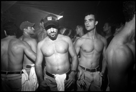 David Corio, Crowd at the Tunnel Club 27th Street & 12th Ave, NYC on 16 September 1995 (via davidcorio.com/)