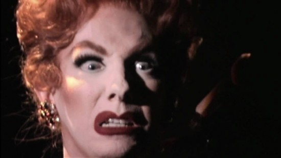 Lypsinka goes full-on Mommie Dearest Joan Crawford
