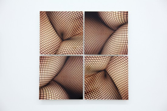 BREYER P-ORRIDGE Fisionet, Master Set of Four, 2003 Four C-prints mounted on Plexi, 32 x 32 inches total | 81.3 x 81.3 cm total