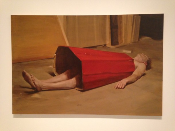 The Devil's Dress, Michaël Borremans, 2011