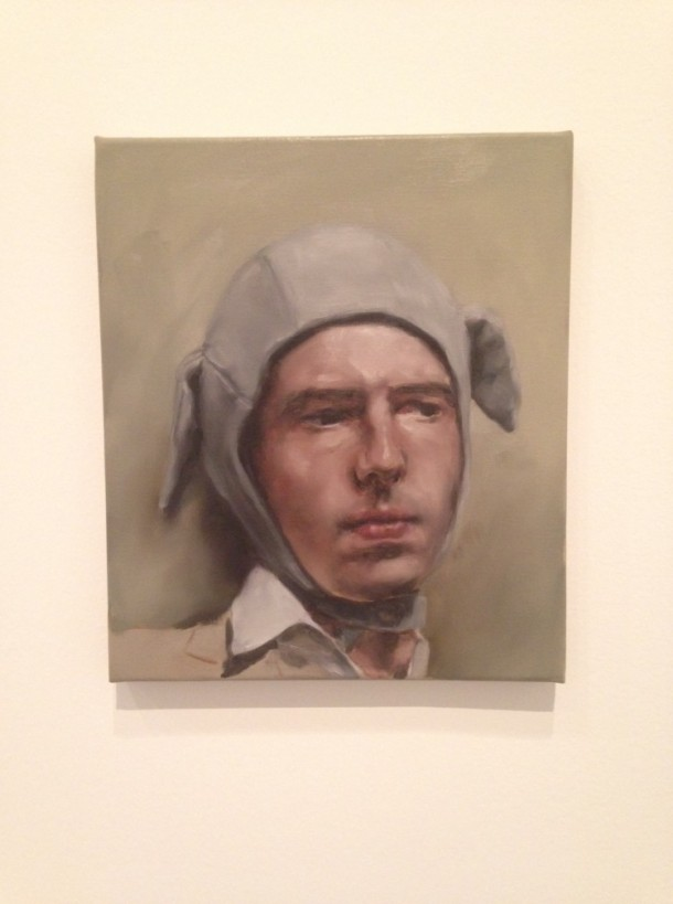 Man Wearing a Bonnet, Michaël Borremans, 2005