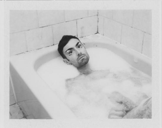 Benjamin Fredrickson, Self Portrait, 2010, Polaroid