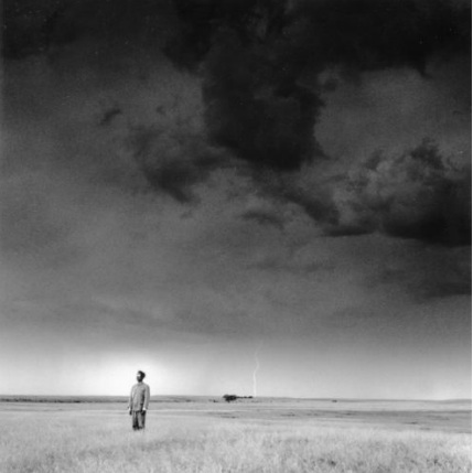 Tseng Kwong Chi, National Grasslands, South Dakota, 1986, silver gelatin print