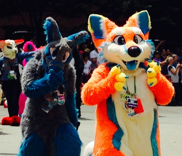 Furries welcome you to Anthrocon 2015
