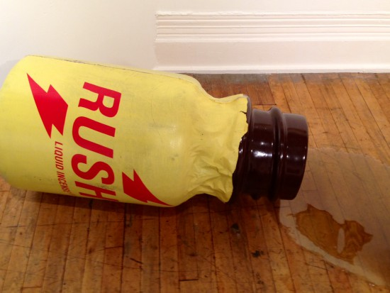 John Waters, Rush, 2009, Polyurethane, oil, PVC plastic