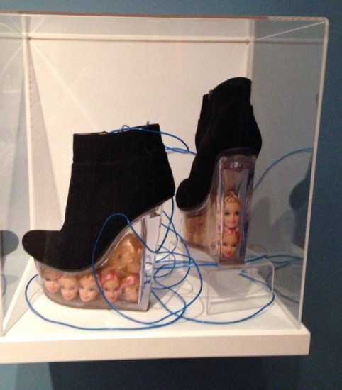 Who doesn't need a pair of Barbie heels?
