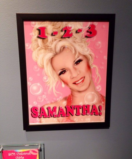 Samantha's portrait for 801 Cabaret