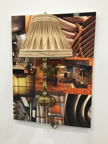 Robert Melee, Atlantic City 5, 2015, Lamp on inkjet print