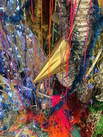 Detail of Robert Melee, Bower Pool, 2016, Mixed media installation