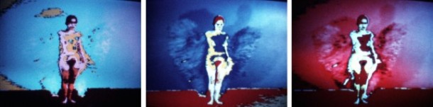Ana Mendieta, Butterfly, 1975Super-8mm film transferred to high-definition digital media, color, silent