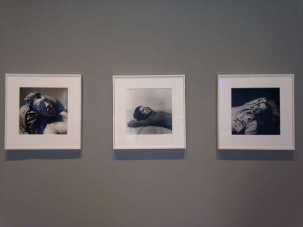 Installation view of Peter Hujar: Lost Downtown at Paul Kasmin Gallery