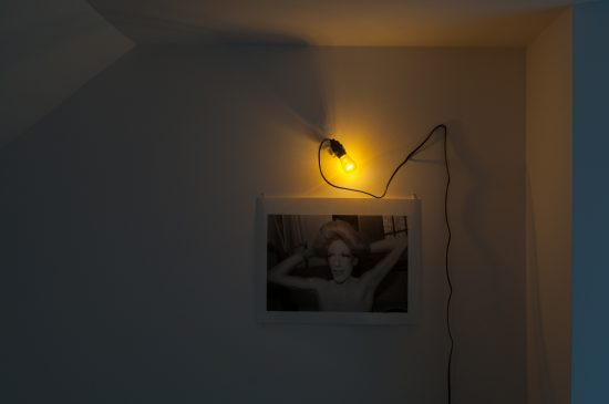 Judy Linn, Ethyl Eichelberger, 1990, 21 x 16 inches, gelatin silver print, installation view.