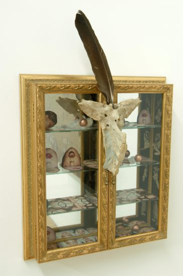 Genesis Breyer P-Orridge Medicine Chest, 2005 Mixed media (Courtesy Nancy and Fred Poses)