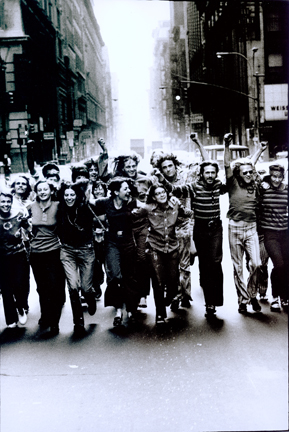 Peter Hujar (1934-1987) Gay Liberation Front Poster Image, 1970 Silver gelatin print, 18.2 x 12.4 in. Collection of Leslie-Lohman Museum, Gift of the Peter Hujar Archive, LLC 2013.181.23 (all images via leslielohman.org)