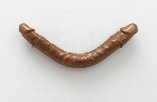 Lynda Benglis, Smile, 1974, cast bronze