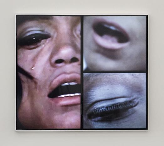 MICKALENE THOMAS Angelitos Negros (film still), 2016, eight (8) two-channel HD video (all images courtesy the artists and Lehmann Maupin, New York)