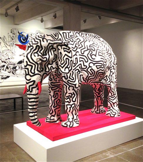 Keith Haring's elephant