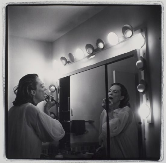 Marilyn Minter, Coral Ridge Towers (Mom Making Up), 1969, gelatin silver print (Collection of Beth Rudin DeWoody)