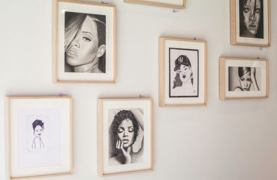 Detail of Rihanna wall in On The Inside (Photo: Christopher Watkins)
