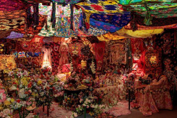 "Portia Munson, ""The Garden"", 1996-98, mixed media installation (Courtesy the artist and PPOW Gallery)"