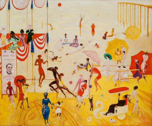 Florine Stettheimer's Asbury Park South (via the-athenaeum.org)