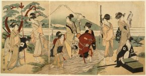 "(Art) History Beyond The Binaries: ""A Third Gender: Beautiful Youths In Japanese Prints"" at Japan Society"